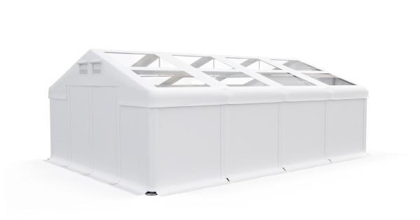 šatori za odlaganje dvostruki prozirni krov 600